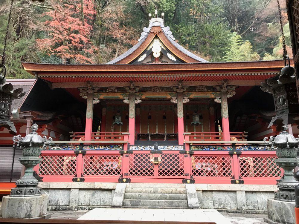 紅葉の名所【談山神社】